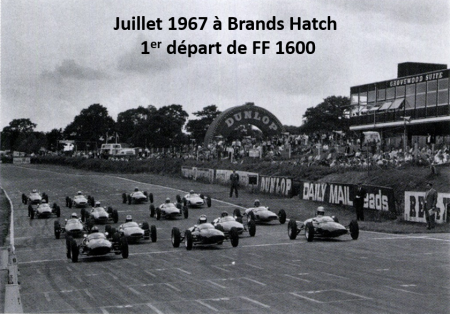 1et départ Formule Ford