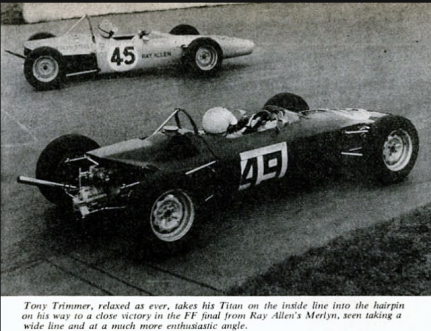Tony trimmer at mallory park 69