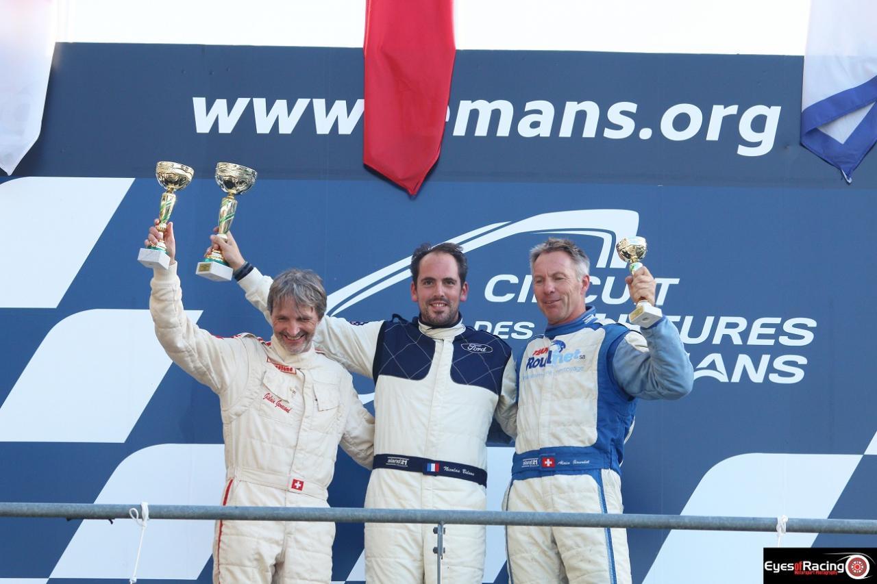 Podium scratch C2 - Le Mans 2016