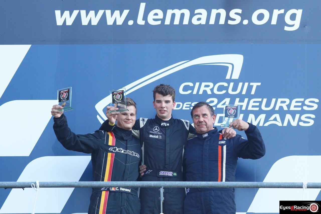 Podium pre-90 C2 - Le Mans 2016