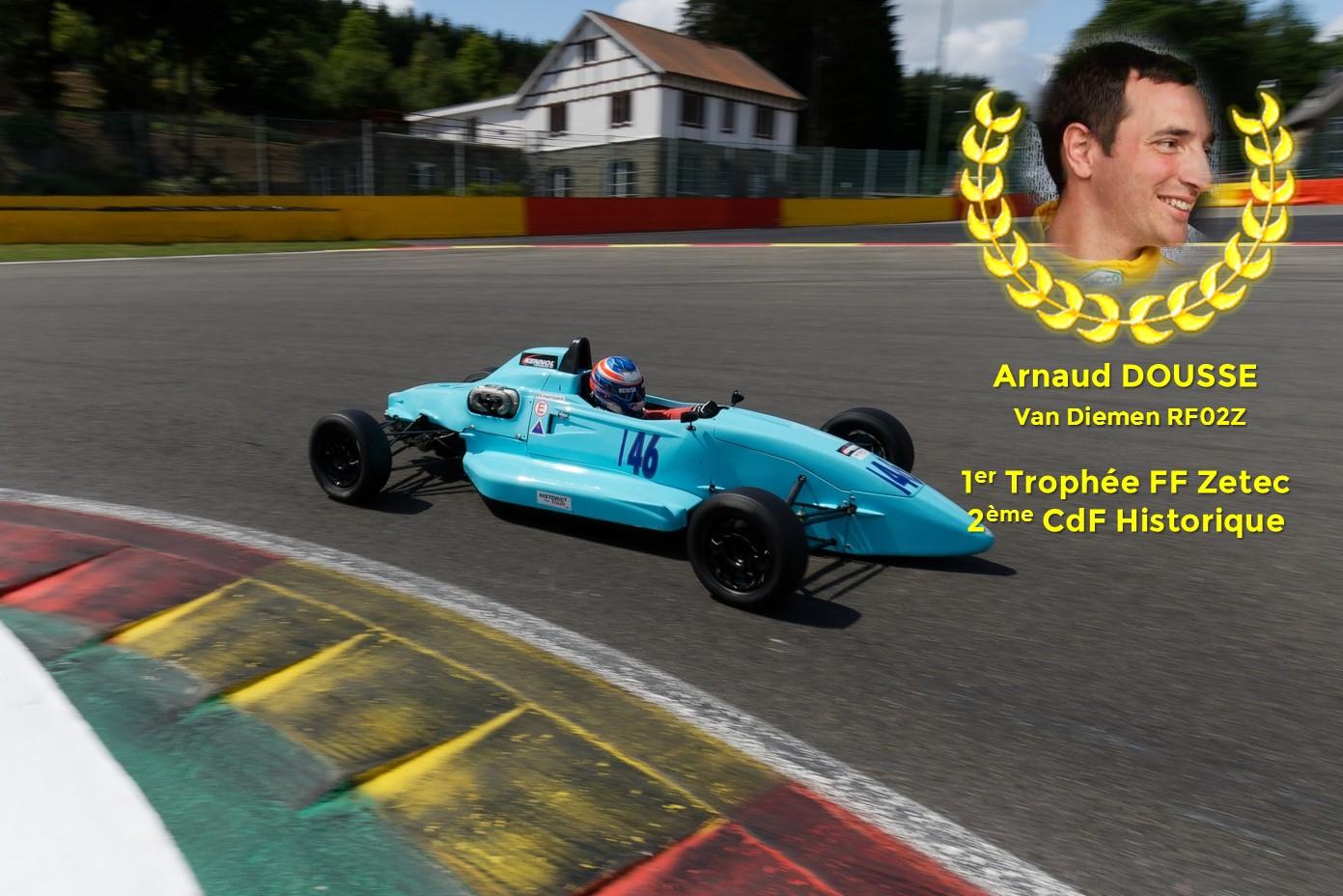 Arnaud Dousse Trophée FF Kent-Zetec 2019